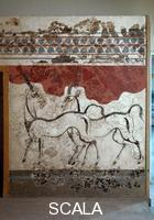 ******** Fresco from Thera: antelopes