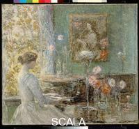 Hassam, Childe (1859-1935) Improvisation, 1899.