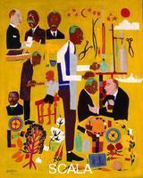 Johnson, William H. (1901-1970) Dr. George Washington Carver, 1945 ca.