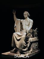 Greenough, Horatio (1805-1852) George Washington, 1840, marmo.
