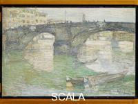 Hassam, Childe (1859-1935) Ponte Santa Trinita, 1897