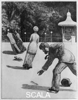 Klinger, Max (1857-1920) The Glove - print 2: Action. 1882.