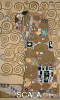 Klimt, Gustav (1862-1918) Sketches for the Frieze with the Tree of Life at Palais Stoclet, Brussels (Belgium), 1905-9