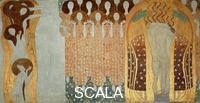 Klimt, Gustav (1862-1918) The 'Beethoven Frieze' painted for the 1902 exhibition of the Viennese 'Secession' movement