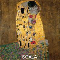 Klimt, Gustav (1862-1918) The Kiss, 1907-1908