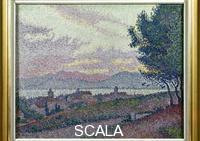 Signac, Paul (1863-1935) View of Saint-Tropez, 1897