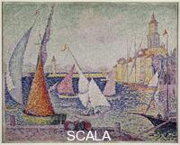 Signac, Paul (1863-1935) Saint-Tropez Harbor