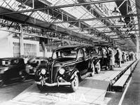 ******** Ford factory, Dagenham, Essex, 1937.