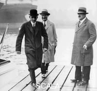 ******** Henry Ford visiting Dagenham, Essex, c1930.