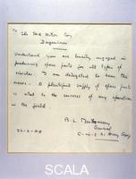 ******** A letter from General Montgomery to Henry Ford, 1944.