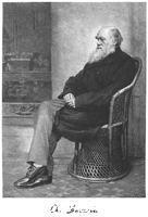 ******** Charles Darwin, English naturalist, 1883.