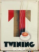 Loupot Charles (1892-1962) Manifesto pubblicitario: 'Twining', 1930