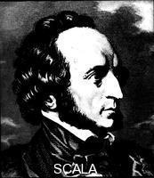 ******** Felix Mendelssohn (1809-1847), German composer.