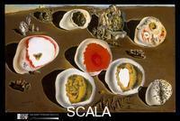 Dali', Salvador (1904-1989) Gli accomodamenti del desiderio, 1929