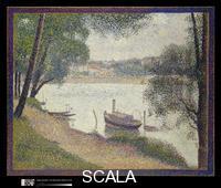 Seurat, Georges (1859-1891) Gray Weather, Grande Jatte, c. 1888
