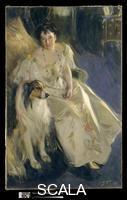 Zorn, Anders (1860-1920) Mrs. Walter Rathbone Bacon (Virginia Purdy, -1919), 1897