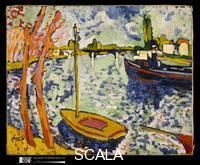 Vlaminck, Maurice de (1876-1958) The River Seine at Chatou, 1906