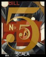 Demuth, Charles (1883-1935) I Saw The Figure 5 in Gold, 1928
