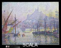 Signac, Paul (1863-1935) Marseilles. La Bonne-Mere Notre-Dame-de-la-Garde, 1905