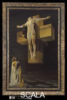 Dali', Salvador (1904-1989) Crucifixion (Corpus Hypercubus), 1954