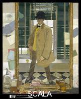 Orpen, William (1878-1931) Self-Portrait, ca. 1910