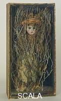 Cornell, Joseph (1903-1972) Untitled (Bebe' Marie), early 1940's