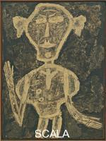 Dubuffet, Jean (1901-1985) Portrait of Henri Michaux, from the More Beautiful Than They Think: Portraits series, 1947