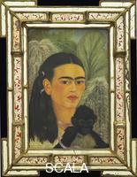 Kahlo, Frida (1907-1954) Fulang-Chang and I, 1937