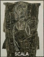 Dubuffet, Jean (1901-1985) Joe Bousquet in Bed, from the More Beautiful Than They Think: Portraits series, 1947