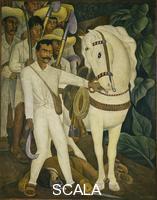 Rivera, Diego (1886-1957) Agrarian Leader Zapata, 1931