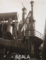 Sheeler, Charles (1883-1965) Tubi di scarico, Stabilimenti Ford (Detroit), 1927