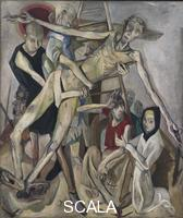 Beckmann, Max (1884-1950) The Descent from the Cross. 1917.