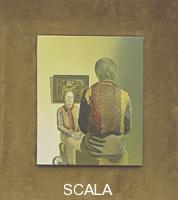 Dali', Salvador (1904-1989) Ritratto di Gala (L'Angelus de Gala), 1935