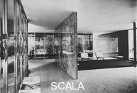 Mies van der Rohe, Ludwig (1886-1969) German Pavilion. Barcelona, International Exhibition, 1928-29.