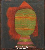 Klee, Paul (1879-1940) Actor's Mask (Schauspielermaske), 1924
