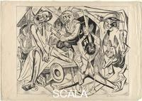 Beckmann, Max (1884-1950) Night, Plate 7 from the portfolio 'Hell', 1919