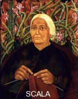 Kahlo, Frida (1907-1954) Dona Rosita Morillo. 1944.
