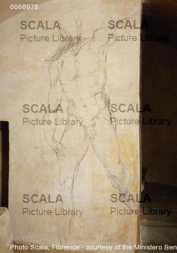 Michelangelo (Buonarroti, Michelangelo 1475-1564) Studio per Cristo risorto