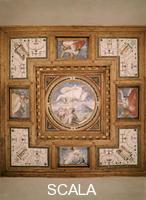 Vasari, Giorgio (1511-1574) Giorgio Vasari (1511-1574); Dieu benissant la semence d'Abraham  ; Maison Vasari; Arezzo