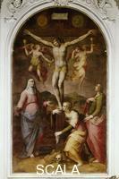 Vasari, Giorgio (1511-1574) Giorgio Vasari (1511-1574); La Crucifixion; Eglise du Carmine; Florence